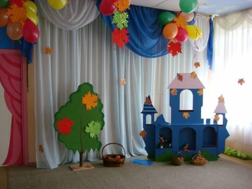 Сад детский сад музыкальный зал